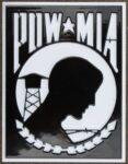 POW MIA Hitch Cover 5.13