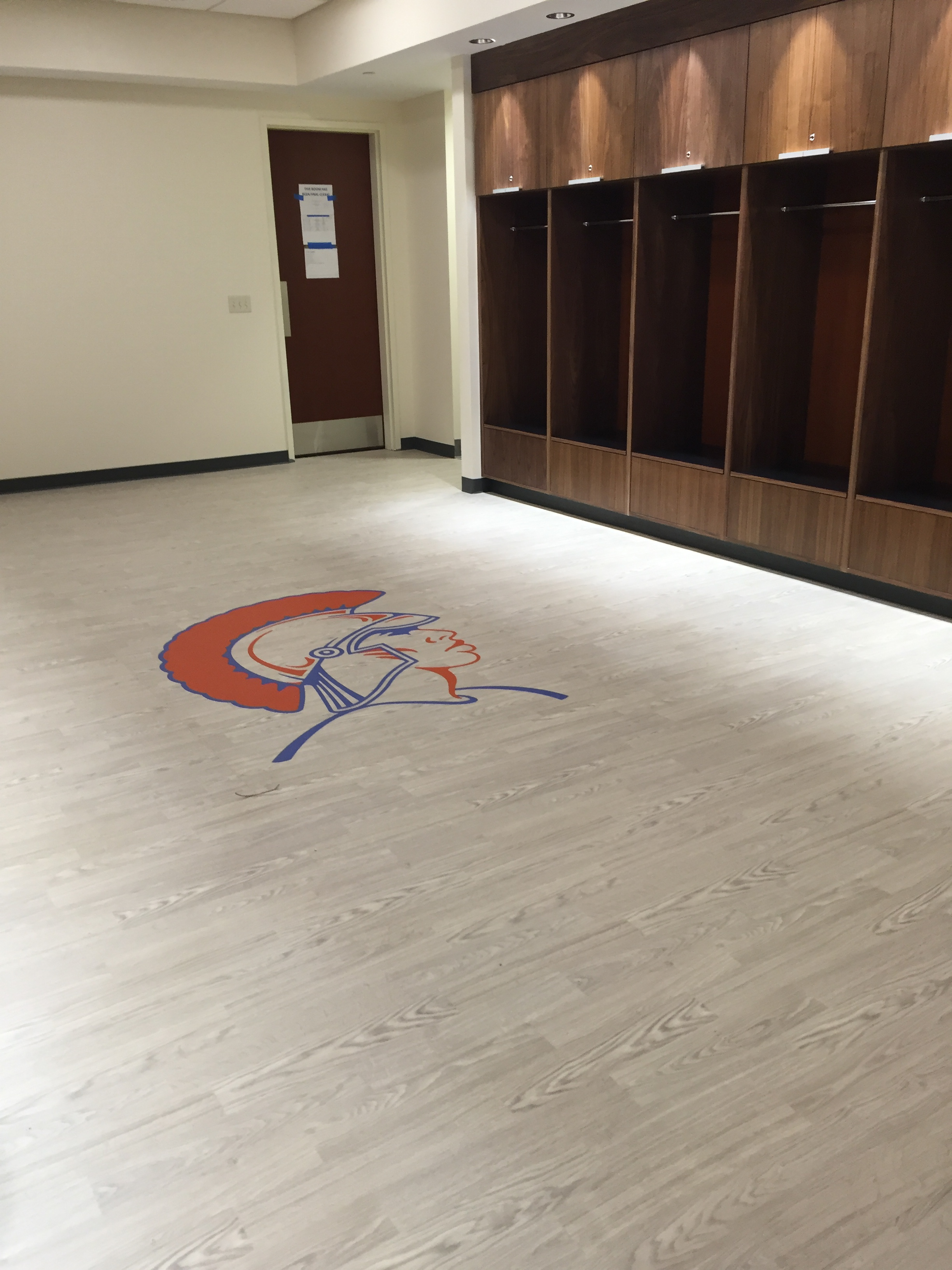 VSU Locker Room