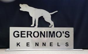 Geronimo's Kennels Stainless Steel
