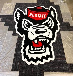 NC State Tufft head - Interface carpet tiles  planks