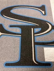 Spain Park HS Interface carpet tiles