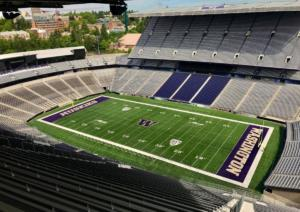Washington turf installed