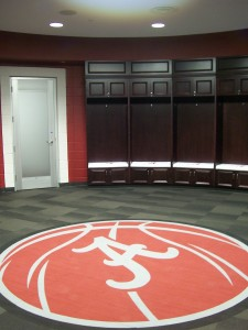 Alabama Basketball Interface Carpet
