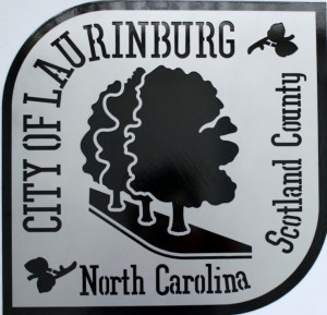 City of Lauringburg NC Wall Hanging