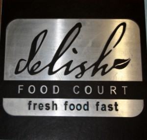 Delishe Food Court - Aluminum & porcelain tile