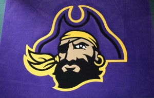 East Carolina University Pirate