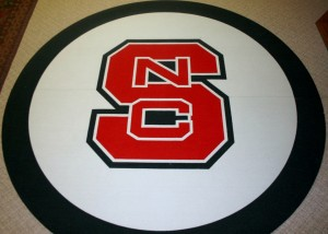 NC State Wrestling Tandus 8 Foot