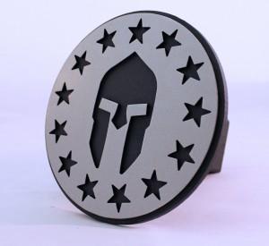 Spartan Head Stars Angle