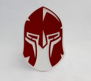 Spartan Red Front