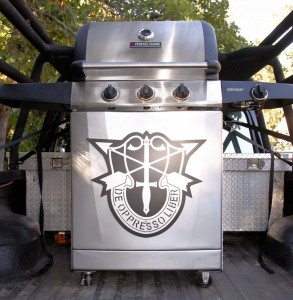 Special Forces Grill Plate