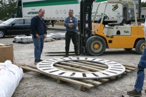 Stainless Disc  94 inch diameter
