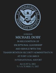 TSA Award