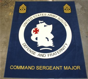 US Army South CSM Carpet