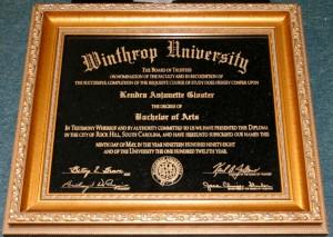 laser diploma